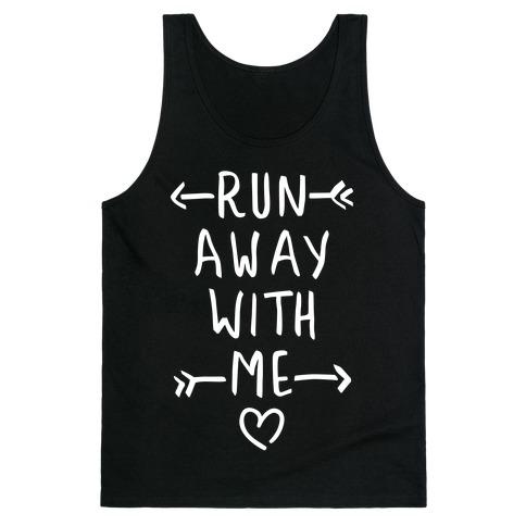 Run Away With Me (Dark Tank) Tank Top