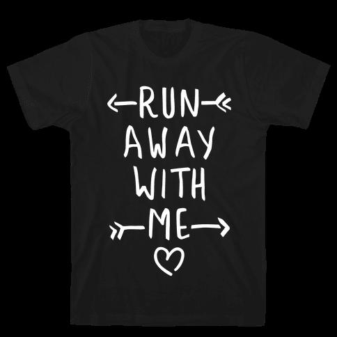 Run Away With Me (Dark Tank) Mens T-Shirt
