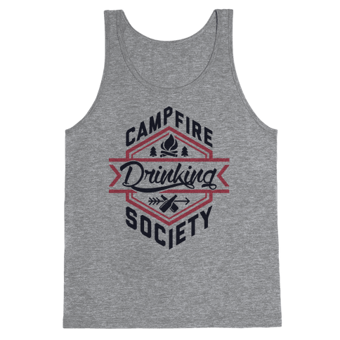 Campfire Drinking Society Tank Top