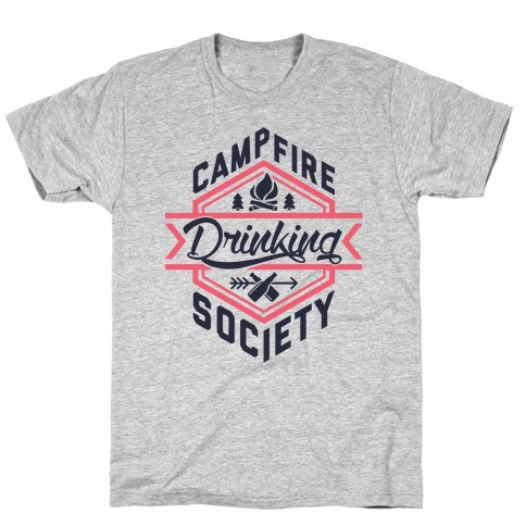 Campfire Drinking Society T-Shirt
