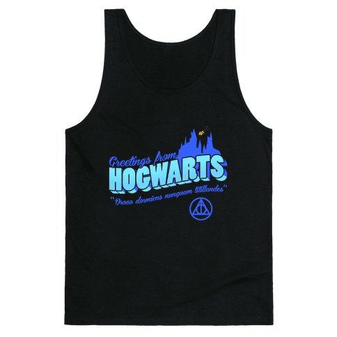 Greetings From Hogwarts Tank Top