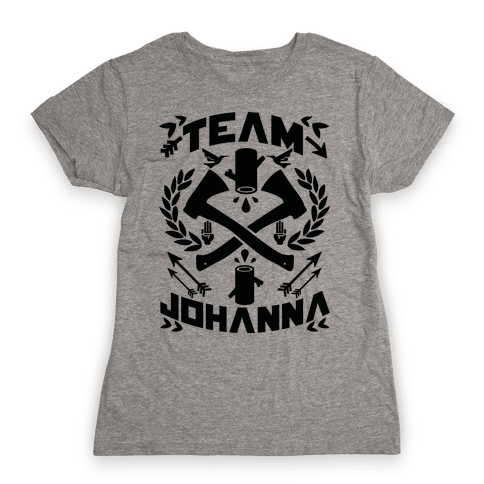 Team Johanna Womens T-Shirt