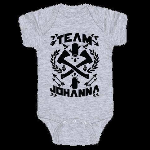 Team Johanna Baby Onesy
