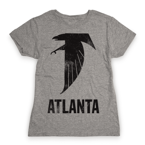Atlanta (Vintage) Womens T-Shirt