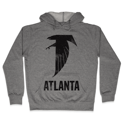 Atlanta (Vintage) Hooded Sweatshirt