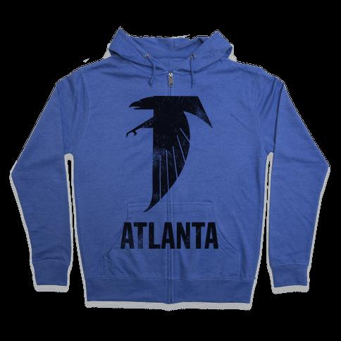 Atlanta (Vintage) Zip Hoodie