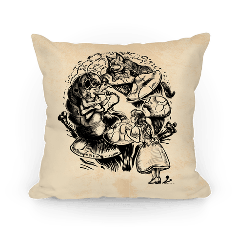 Alice's Adventures in Wonderland Pillow