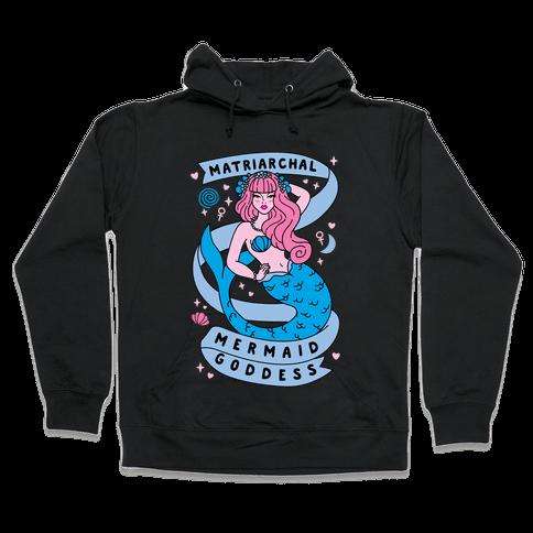 Matriarchal Mermaid Goddess Hooded Sweatshirt