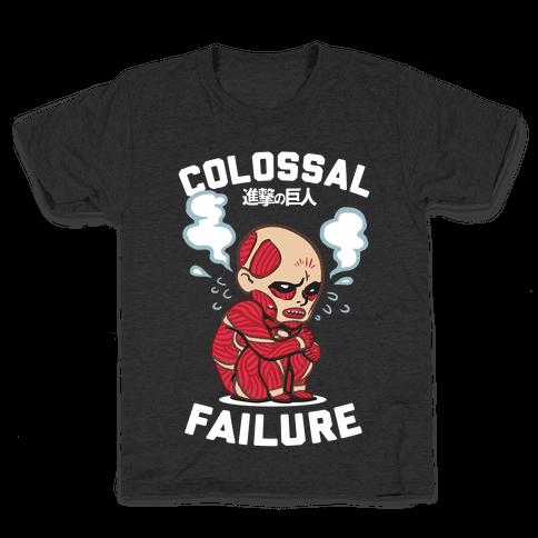 Colossal Failure Parody Kids T-Shirt