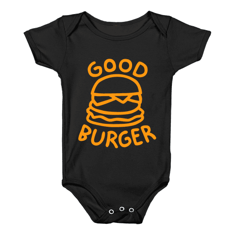 Good Burger (Dark Tank) Baby Onesy