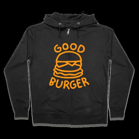 Good Burger (Dark Tank) Zip Hoodie