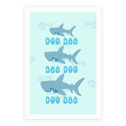 Baby Shark Poster