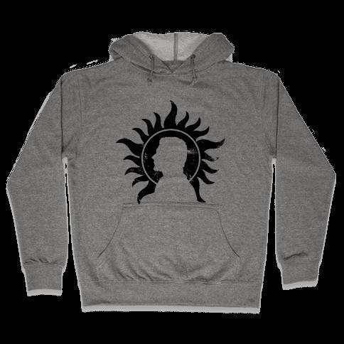 Dean Winchester (tank) Hooded Sweatshirt