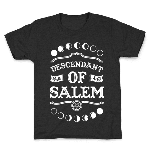 Descendant of Salem Kids T-Shirt