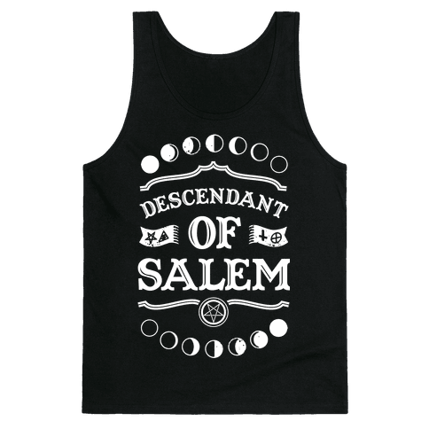 Descendant of Salem Tank Top