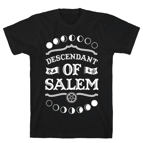 Descendant of Salem Mens T-Shirt