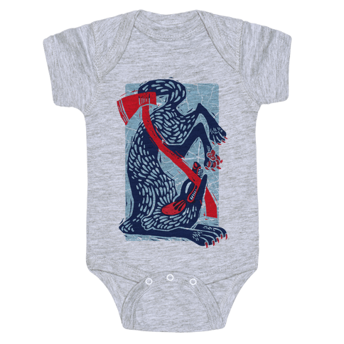The Big Bad Wolf's Defeat Baby Onesy