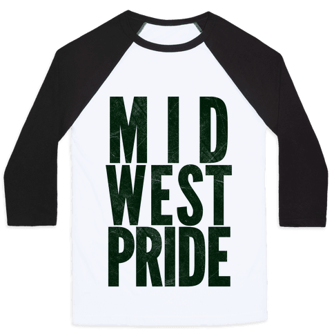 Midwest Pride Baseball Tee