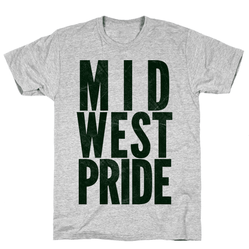 Midwest Pride Mens T-Shirt