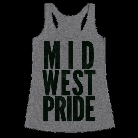 Midwest Pride Racerback Tank Top