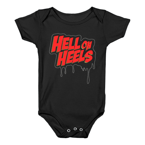 Hell on Heels Baby Onesy