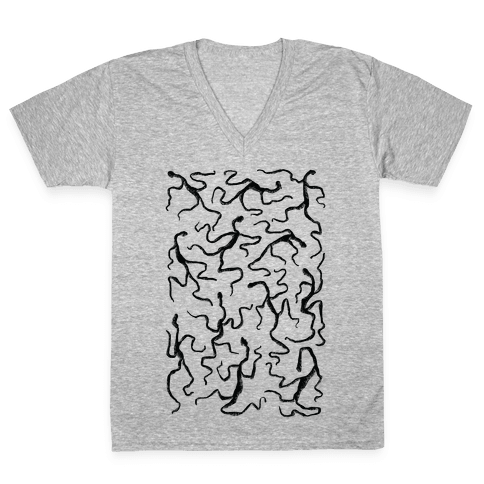 Amigara Fault Part Two V-Neck Tee Shirt