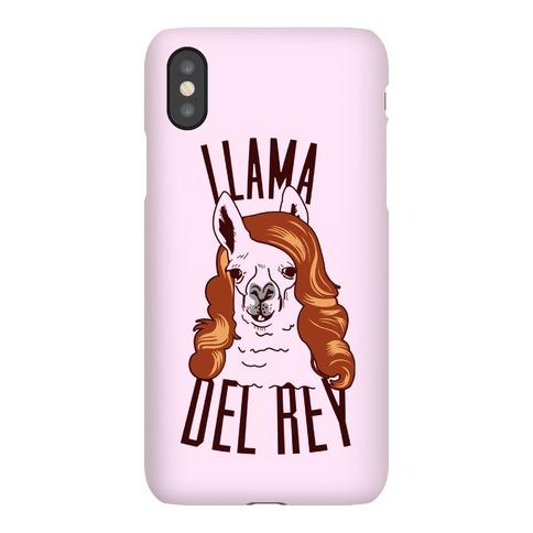 Llama Del Ray Phone Case
