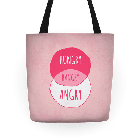 Hangry Diagram Tote