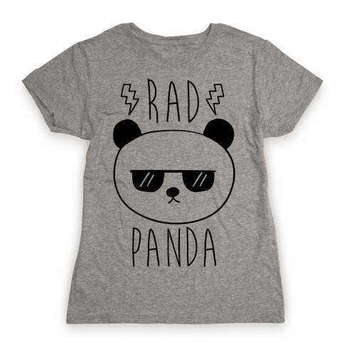 Rad Panda Womens T-Shirt