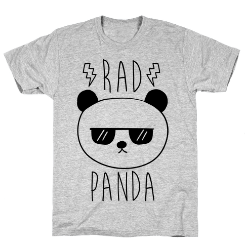 Rad Panda Mens T-Shirt