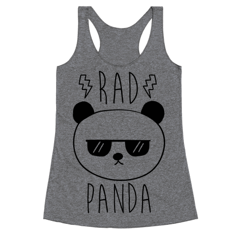 Rad Panda Racerback Tank Top
