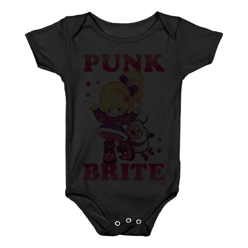 Punk Brite Baby Onesy
