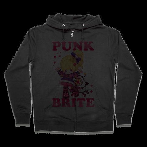 Punk Brite Zip Hoodie