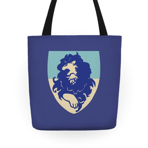Blue Lion Crest - Fire Emblem Tote