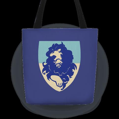 Blue Lion Crest - Fire Emblem Tote