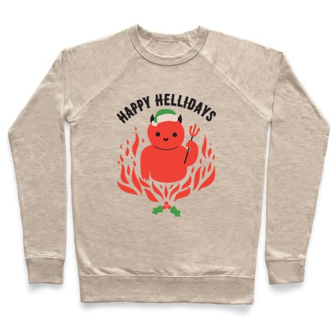 Happy Hellidays Christmas Devil Pullover