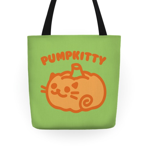 Pumpkitty  Tote