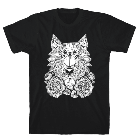 Seven Eyed Wolf Mens T-Shirt