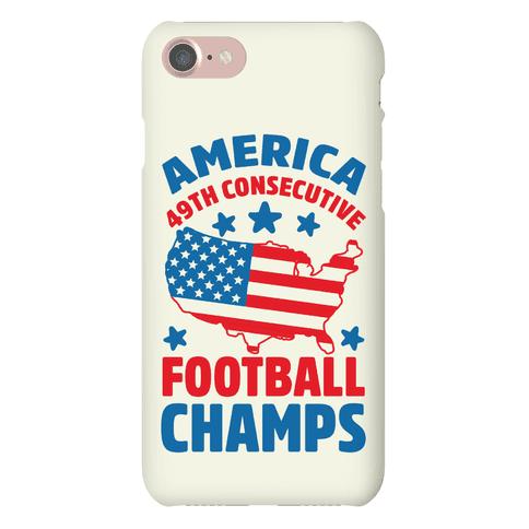 America: 49th Consecutive Football Champs