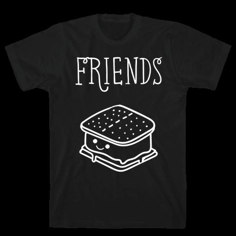 Best Friends Campfire 2 Mens T-Shirt