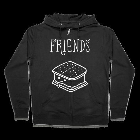 Best Friends Campfire 2 Zip Hoodie