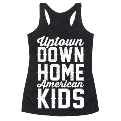 Uptown Downhome American Kids Racerback Tank Top