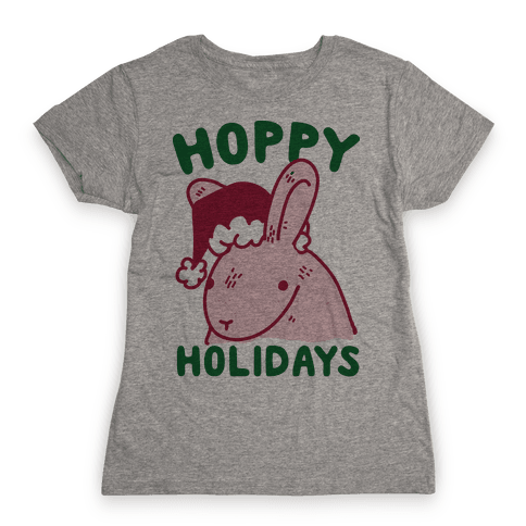 Hoppy Holidays Womens T-Shirt