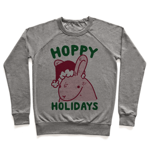 Hoppy Holidays Pullover