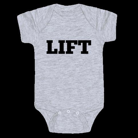 Lift Baby Onesy