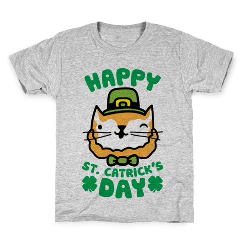 Happy St. Catrick's Day Kids T-Shirt