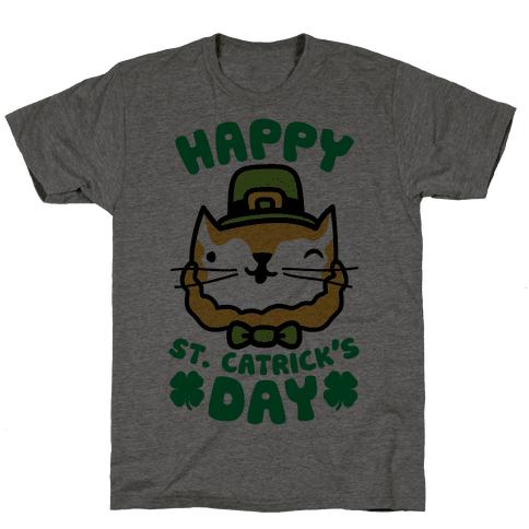 Happy St. Catrick's Day Mens T-Shirt