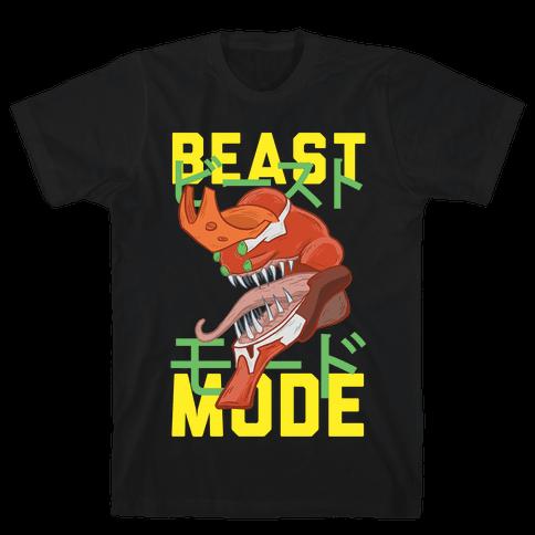 Beast Mode Eva Parody Mens T-Shirt