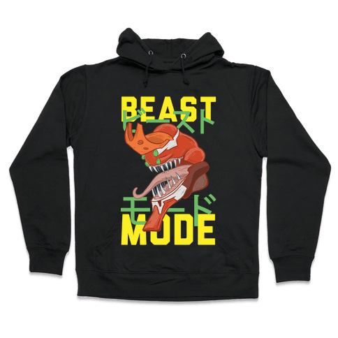 Beast Mode Eva Parody Hooded Sweatshirt