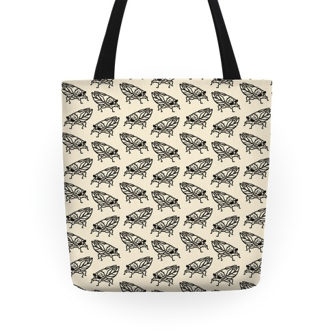 Cool Cicada Pattern Tote